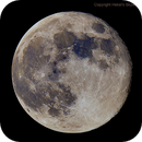 Moon Waning Gibbous 92% of full,                                HekelsSkywatch