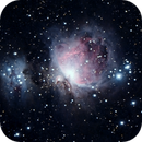 M42 - Orion Nebula and Running Man,                                Dave