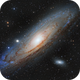 M31 - Image The Universe First Light,                                Paddy Gilliland