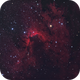 In search of The Cave nebula,                                Lorenzo Taltavull...