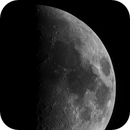 Seven Days Old Moon,                                astropical