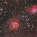 IC410/IC405,                                Ken-ichiro Tanaka