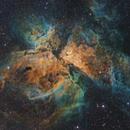 NGC3372 - Eta Carina Nebula (Hubble Palette),                                Diego Cartes
