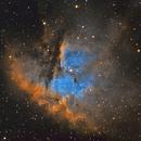 NGC 281 : The Pacman Nebula,                                Mike Kline