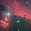 Horsehead and Flame Nebulae in HaRGB,                                Rex Robichaux