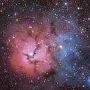 Trifid Nebula (M20),                                Rathi Banerjee