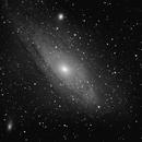 M31 - testing my setup,                                Tom Gray