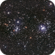 Perseus Double Cluster - NGC 869 and NGC 884,                                Rowland Archer