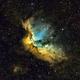 NGC 7380 - Wizard nebula,                                JonathanBlake