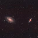 Bode's Nebula - M81/82,                                Kevin Clark