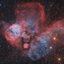NGC2467,                                Philippe BERNHARD
