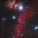 B 33 Horsehead Nebula and NGC 2024 Flame Nebula,                                JuergenB