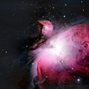 Orion Nebula 23th December 2017,                                Peter Brackenridge