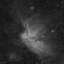 NGC 7380, the Wizard Nebula in H-alpha,                                Alexander Sorokin