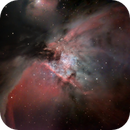 M42, proplyds in the Orion Nebula,                                Exaxe