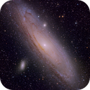 M31 First Light Data FSQ130,                                Greg Nelson