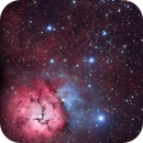 M 20 Trifid in HaRGB from Suburbia,                                Andy 01