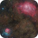 M8 and M20 - Laguna and Trifid-Nebula,                                Andreas Reifke