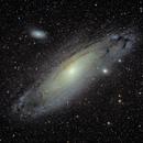 Andromeda Galaxy,                                John Parker