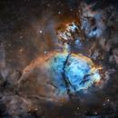 FISH HEAD NEBULA IC1795,                                Caroline Berger