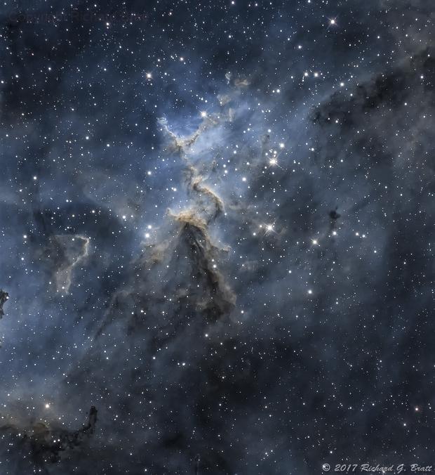Melotte 15 - Open Cluster,                                Richard Bratt