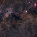 Surrounding of Classics Eagle, Omega, Trifid and Lagoon Nebula,                                Florian_Pieper