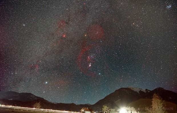The whole orion constellation,                                Bernhard Noichl