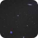 Messier M97 & Messier M108,                                Josef Büchsenmeister