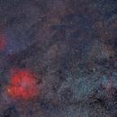 IC1396 & Sh2-129,                                Rush