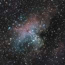 M16 - Eagle nebula - 2021 Version,                                Carlo Caligiuri