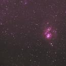 Nebula Lagoon - M8,                                Augusto