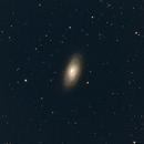 Black Eye Galaxy,                                Robin Clark - EAA imager