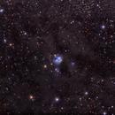 NGC 7129,                                George Simon