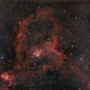 IC1805 - Heart Nebula,                                West Woods Observatory