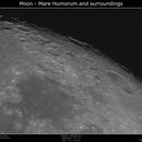 Moon - Mare Humorum and surroundings,                                Brice Blanc