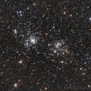 Perseus Double Cluster alias NGC869/884 (alias H X Persei),                                Riccardo A. Ballerini