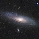 M31 - Andromeda Galaxy,                                Yizhou Zhang
