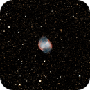 M27 First picture with my new RC8, and first autoguiding test,                                Elboubou