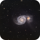 Whirlpool Galaxy (M51) in LRGB,                                Jose Carballada
