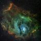 M8 (Lagoon Nebula),                                canata