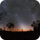 Zodiacal light with the howling jackals,                                Rafael Schmall