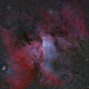 NGC6188, NGC6164-5, NGC6167 (oc), NGC6193 (oc); Ara,                                Thomas V. Davis