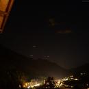 Mars et Saturne au dessus de Sankt Anton am Alberg,                                FranckIM06