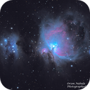 M42 & NGC 1977 - Orion Nebula and Running Man Nebula,                                Greg Bradburn