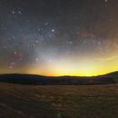 Zodiacal Light 10/04/2021,                                Łukasz Żak