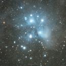M45 Pleiades a.k.a Seven Sisters,                                Yash