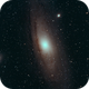 M 31 - Andromeda - Test and first light of it for me,                                Tobias Artinger