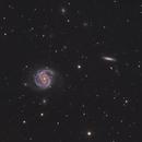 Messier 100 & friends NGC4312 NGC4322 NGC4328,                                Vasile Unguru