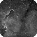 IC1396 in H-alpha,                                MicRaWi