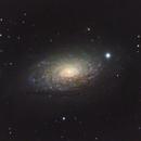 M63 - Sunflower Galaxy - LRGB,                                Michael J. Mangieri